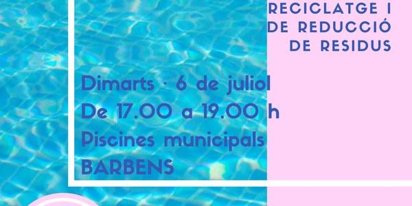 Jocs de reciclatge a les piscines