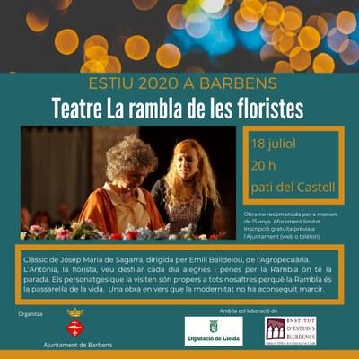 Teatre La rambla de les floristes
