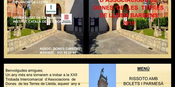 Trobada intercomarcal d'associacions de dones Terres de Lleida