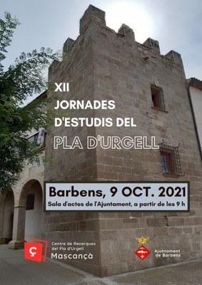 XII Jornades d'Estudis del Pla d'Urgell