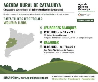 Tallers de l'Agenda Rural de Catalunya