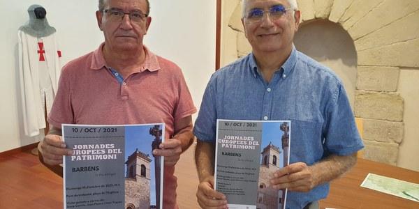 9 i 10 d'octubre: XII Jornades d'estudis del Pla d'Urgell i Jornades Europees del Patrimoni a Barbens