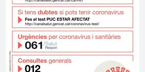 Afectacions del Coronavirus a Barbens